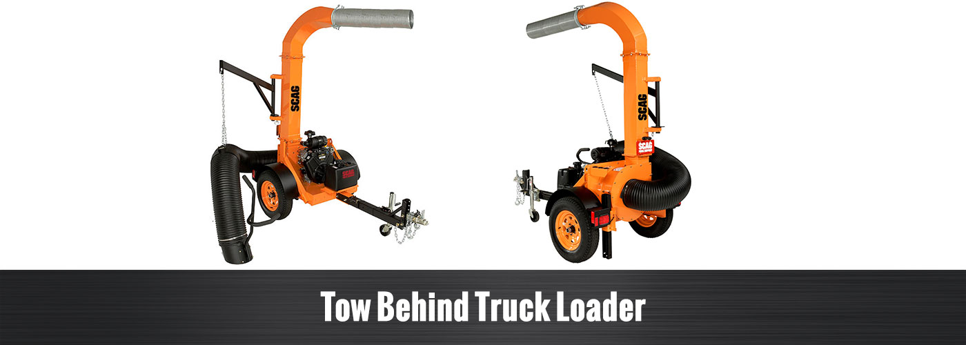 Tow Behind Truck Loader